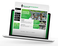 Ticket Shop Design - Brodussia Mönchengladbach
