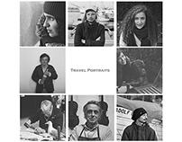 Black&White Travel Portraits (Analog Photography)