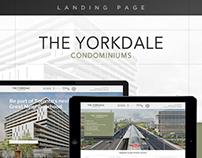 Yorkdale Condos Landing Page Design