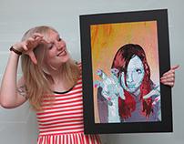 Textural Self Portrait