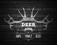 The Deer - Logo