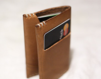 Sturdy, narrow wallet