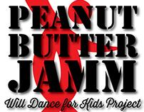 Peanut Butter Jamm Logo Design