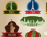 Travel Vectors