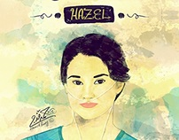 Hazel .. The Fault in Our Stars .. Poster