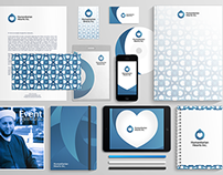 humanitarian heart Inc. Visual identity
