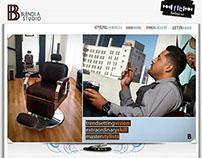 Blend LA Studio Custom Website
