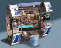 Trade Show Exhibit for Augmented Reality Mobile Devices