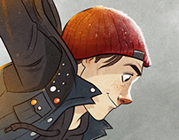 Delsin from inFAMOUS: Second Son