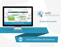 Web Design | Website empresa Cads Consultoria