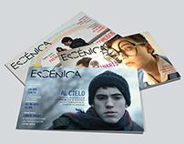 Revista ESCÉNICA | Editorial Design