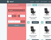 React Web App