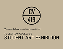Fullerton College Student Art Exhibition - CV419
