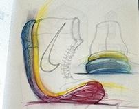 FOOTWEAR sketchebook