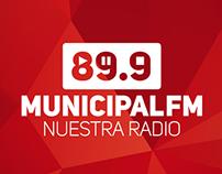 89.9 Radio Municipal - Nuestra Radio