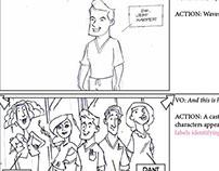 Dental Animation Storyboards