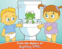 Potty Time Book Illustrations