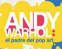 Andy Warhol: infografía