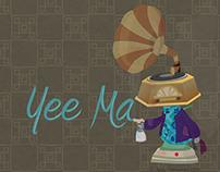 Yee Ma Character Design