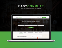 Easy Commute - Web Design