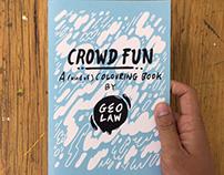 Crowdfun Colouring Book