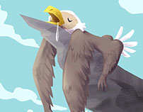 The majestic and noble Eaglesloth