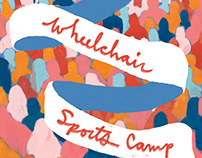 Wheelchair Sports Camp Flyer for Sally Centigrade