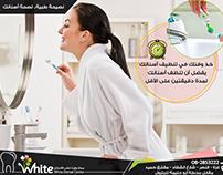 Poster-design for White Dental Center