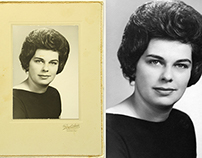 Vintage Portrait Restoration