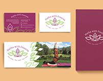 Hatha With Frances Yoga | Branding