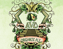 Vegetable Branding: AVO Organic Ale