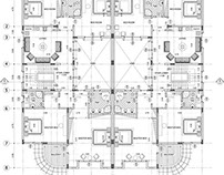 Architectural Furniture Layout Plan