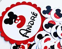 """""""Mickey Mouse"""" party // Festa de aniversário"""