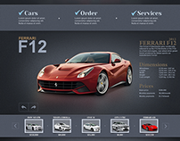 Car Shop web design ( Recently working on )