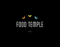 FOOD TEMPLE // LOGO DESIGN // BRANDING