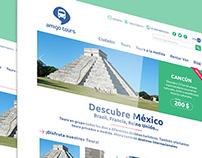 Diseño web Amigo Tours