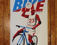 'Bike Like Mike' Artcrank Poster