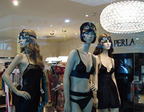 Escaparates y Visual Merchandising para La Perla