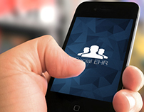 Social EHR Mobile App UI