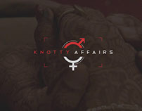 Knotty Affairs Web Design Ui