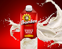 Borden Milk Advertisements