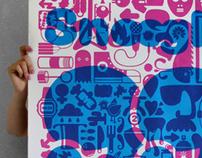 Snoogle Poster - 99 Dingbats