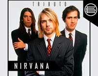 Nirvana Tributo - Poster Design