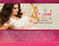 "Advertise cosmetics ""Be Loved"""