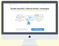 SalesCamp Home Redesign