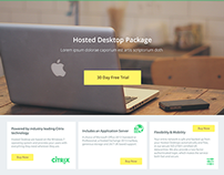 UX/UI for Hosting Company