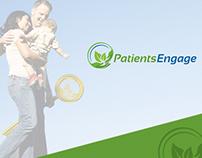 Patients Engage Mobile App UI