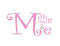 Millie & Me logo design