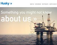 Husky Webpage