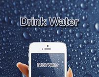 Drink Water Mobile App Ui